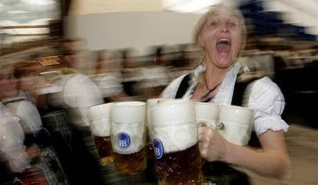 V Mnichově začal 176. ročník Oktoberfestu (19. září 2009)