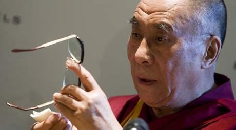 Tibetský duchovní vůdce dalajlama navštívil Prahu, diskutuje zde s osobnostmi o lidských právech