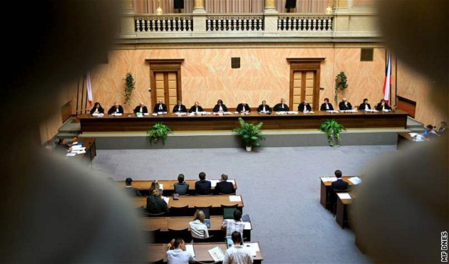 Ústavní soud v Brn�. (10. zá�í 2009)