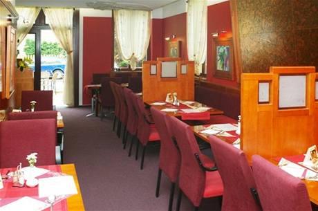 Restaurace v opavském hotelu Iberia.