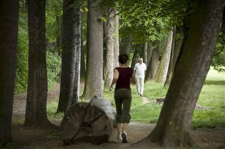 Relaxace v parku Stromovka