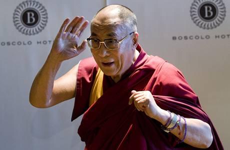 Nejvyšší tibetský duchovní vůdce navštívil Českou republiku (10. 9. 2009).