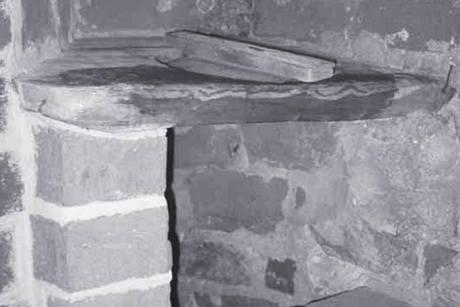Záchod na hradě - ilustrační foto