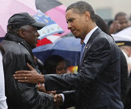 Americký prezident v Pentagonu (11. 9. 2009)