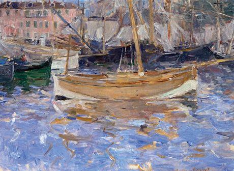 Z výstavy v Albertině: Berthe Morisot