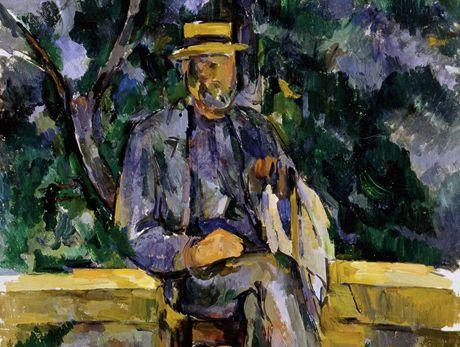 Z výstavy v Albertině: Paul Cézanne