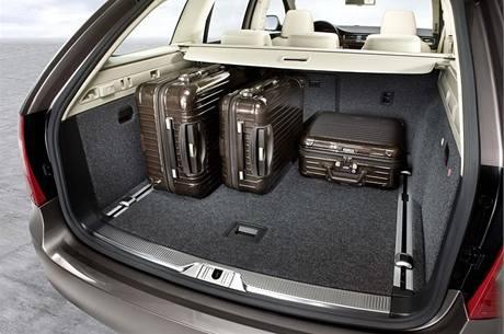 Škoda Superb Combi - kufr