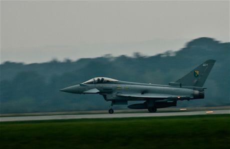 Eurofighter Typhoon F2 britského Královského letectva