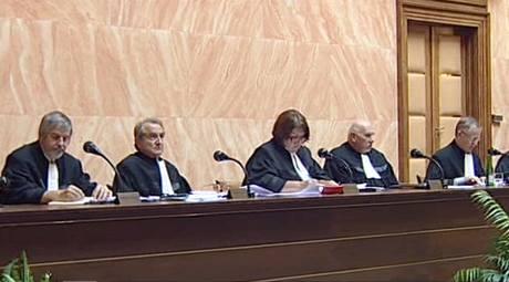 Ústavní soud v Brně rozhoduje o stížnosti poslance Miloše Melčáka. (10. září 2009)