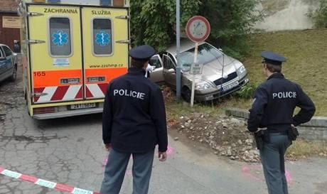 Policie vyšetřuje střelbu na Řeporyjském náměstí v Praze