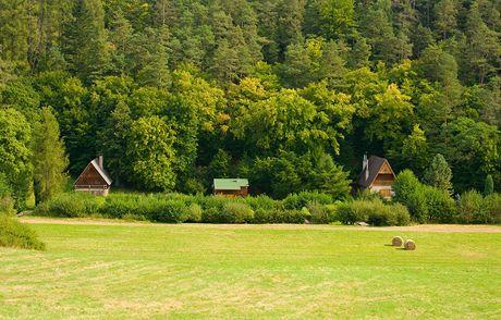 Křivoklátsko, Údolí ticha. Trampská osada Ricatado