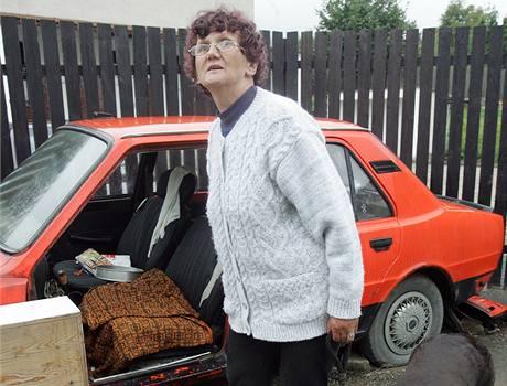 Jaroslava Medunová žila před rokem ve škodovce