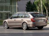 Škoda Superb Combi - zadní pohled