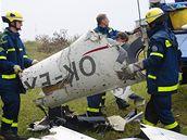 Pád českého letadla. (16. září 2009)