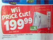 Wii - snížená cena