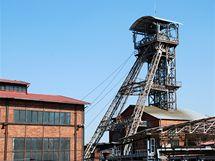 Těžní věž - symbol uhelné éry