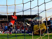 Třetí gó Milana Baroše v zápasu se San Marinem. (9. září 2009)