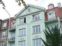 Byt v domě na pražských Hradčanech chce Topolánek přenechat své manželce.