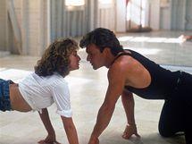 Jennifer Grey a Patrick Swayze ve filmu Hříšný tanec