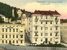 Prager Haus v roce 1920