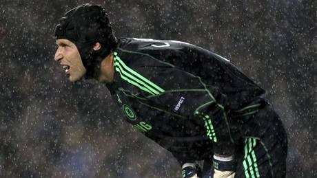 Chelsea - Porto; Petr Čech