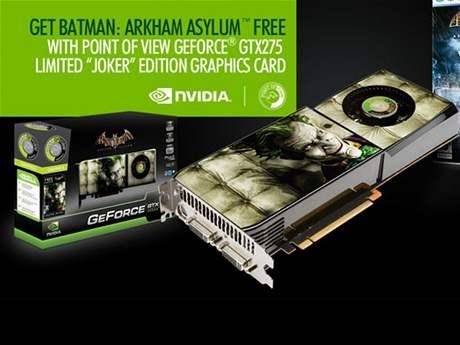 GeForce GTX 275 Joker edition - promo leták