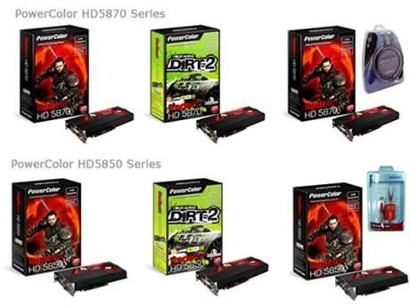PowerColor Radeon HD 58x0