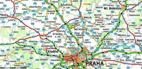 nehoda na 11. kilometru dálnice D8 ve směru na Prahu si vyžádal život člověka
