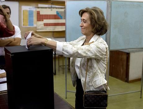 Manuela Ferreirová Leitová z opoziční PSD upozornila na krizi v zemi, kterou je třeba společně řešit (28.9.2009)