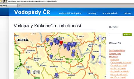 Vodopády.cz