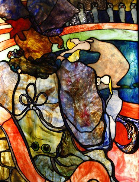 Z výstavy Louis Comfort Tiffany, Barvy a světlo
