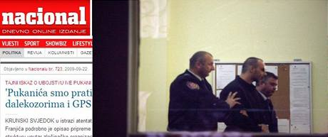Chorvatští policisté vedou korunního svědka v případu vraždy na novináře Ivo Pukaniče