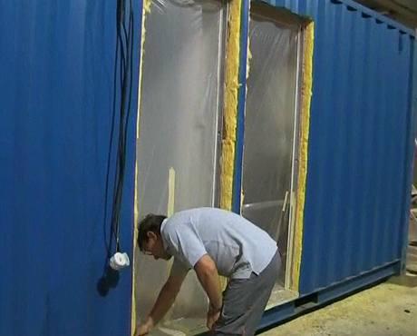 Tepelná izolace odpovídá běžným stavbám