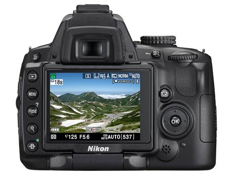 Digitální zrcadlovka Nikon D5000 - ovladani