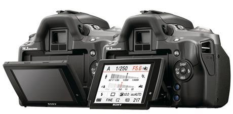 Digitální zrcadlovky Sony Alpha 380