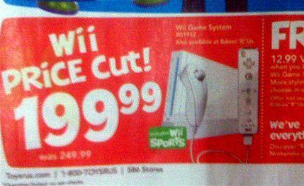 Wii sleva
