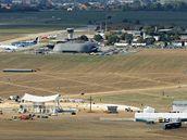 Letiště Tuřany, areál papežovy mše