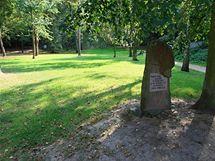 Opravený park Réna v Ivančicích