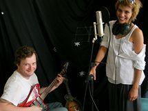 Aneta Langerová a Martin Ledvina ve studiu