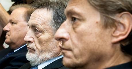 Kandidáti na ředitele ČRo Jiří Mejstřík, Peter Duhan, Richard Medek (zleva).