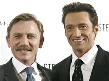 Daniel Craig a Hugh Jackman spolu hrají v inscenace A Steady Rain