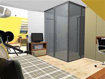 Minimalistický pokoj pro syna