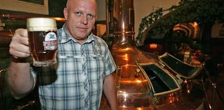 Provozní brněnského pivovaru Pegas Miloš Šauer