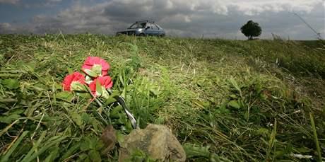 Ústup na Blanensku, místo, kde šest mužů a jeden policista ubili obušky k smrti muže
