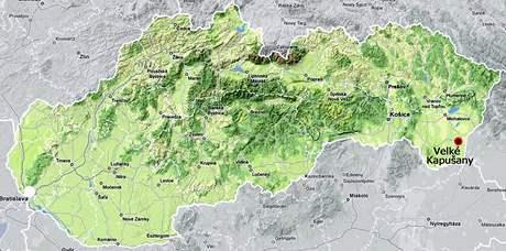 Velké Kapušany na Slovensku