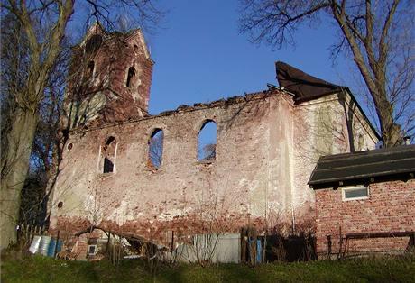Rudník, okres Trutnov, evangelický kostel z roku 1785