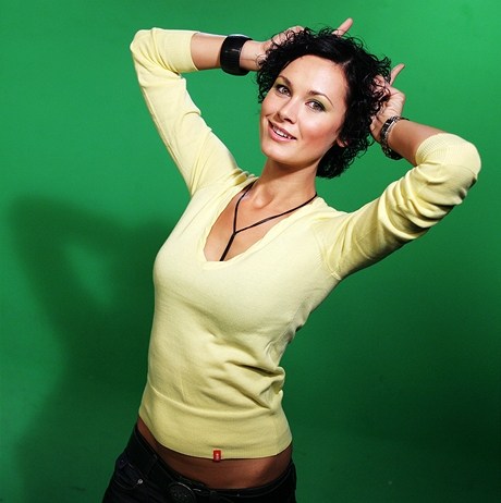 Michaela Salačová - DJka a modelka