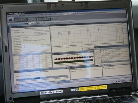 Měření kvality sítě - Telefónica O2