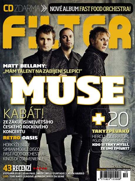 Filter - říjen 2009