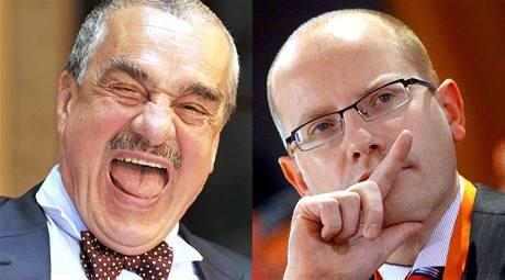 Nejoblíbenějšími politiky v zemi jsou Karel Schwarzenberg a Bohuslav Sobotka.